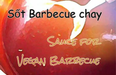 Sốt làm barbecue chay / Vegan Barbecue Sauce