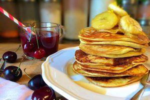 Pancakes à la vanille et fève tonka