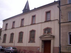 Livre de Roland SEBBEN - ALGRANGE Cité aux 4 mines - La chapelle - L'église néo-apostolique - La Maison de la sainte Famille - Le monument aux morts (11)