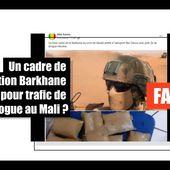 Un militaire français n'a pas été arrêté avec deux kilos d'héroïne au Mali