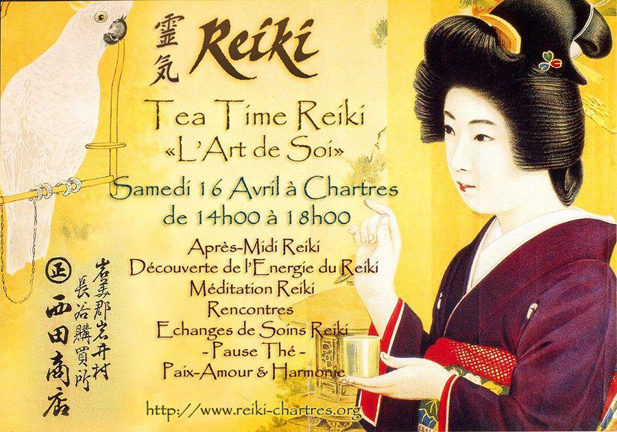Le Reiki est une méthode de soins découverte au Japon par Mikao Usui - Cérémonie du Thé au Japon