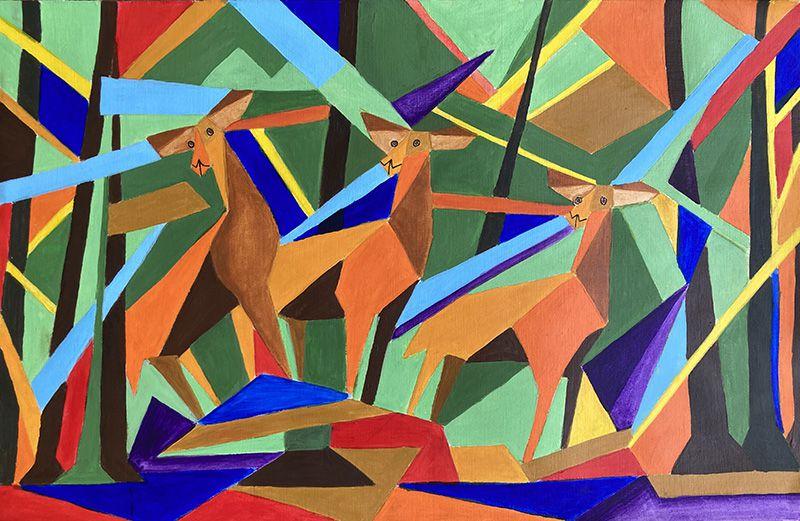 Nanou Casas - Dessin et peinture