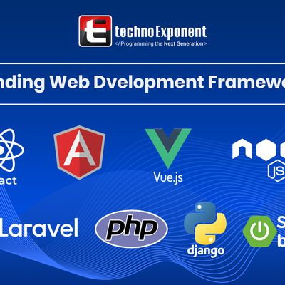 Techno Exponent- Build web apps Using trending web frameworks with us