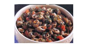 Lumache di mare o chioccioline al sugo