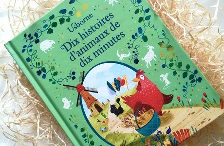Découverte de Dix histoires d'animaux de dix minutes, chez Usborne