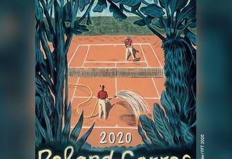 Affiche ROLAND GARROS 2020