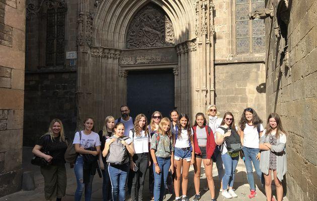 Semaine Erasmus+ à Barcelone avec le collège