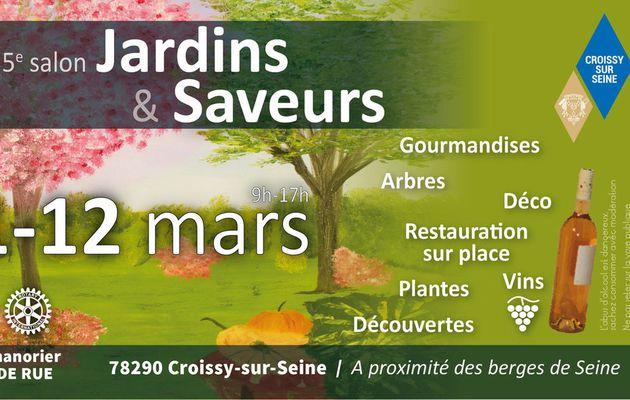 5ème édition du Salon du jardin et des Saveurs à Chanorier : samedi 11 mars et dimanche 12 mars 2017