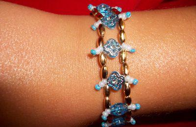 Bracelet glacé