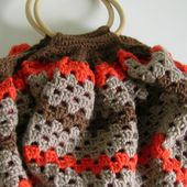 Sac boule au crochet : photos et tuto