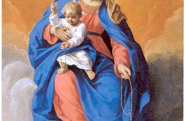 7 Ottobre : Preghiera alla Beata Vergine Maria Regina del S. Rosario