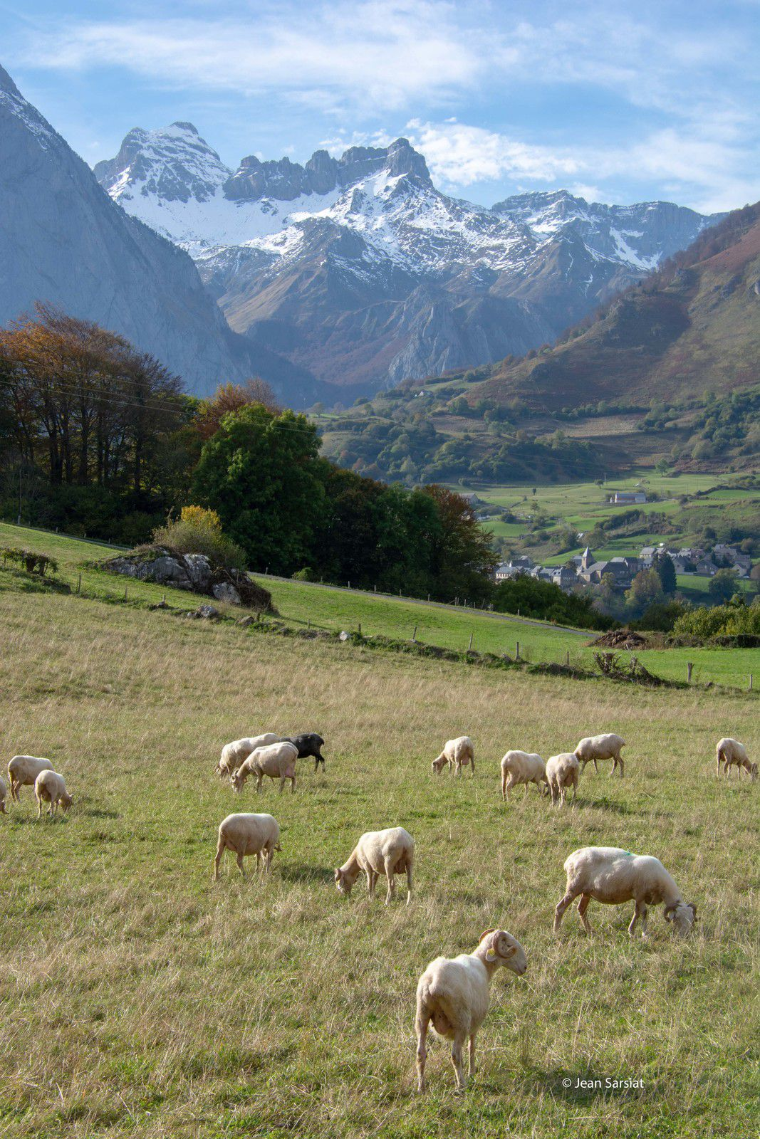 VALLEE d'ASPE : LA SUBLIME PALETTE DE COULEURS DE DAME NATURE