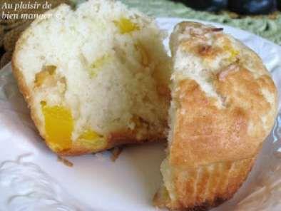 Muffin lait de coco