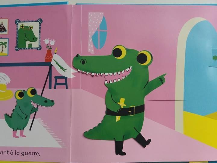 Ha, les crococos des Editions Casterman - Un livre comptine animé, à lire, à chanter