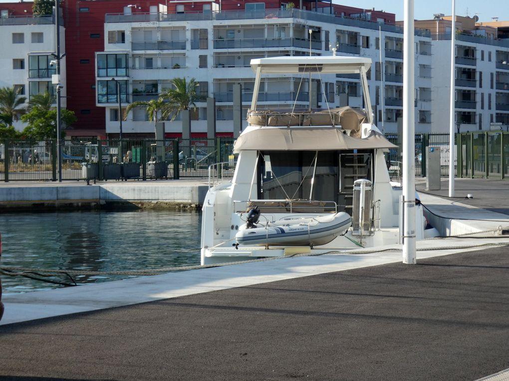 FLEUR DE CORAIL , a quai a la Seyne sur Mer le 29 juin 2020