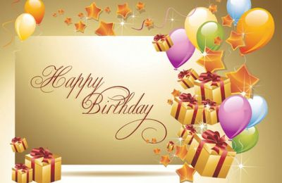 Happy Birthday - Anniversaire - Ballons - Cadeaux - Picture Free
