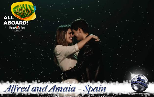 Spain 2018 - Alfred and Amaia - Tu Canción (Official Video and Lyrics)