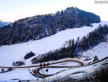 St - Ursanne - Les Rangiers (les pieds dans la neige...)