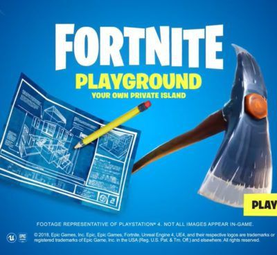 Fortnite - Bande-annonce en mode Playground
