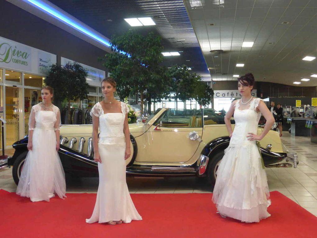 Présentation des robes de mariées avec Line, Alexia, Émilie et Coralie