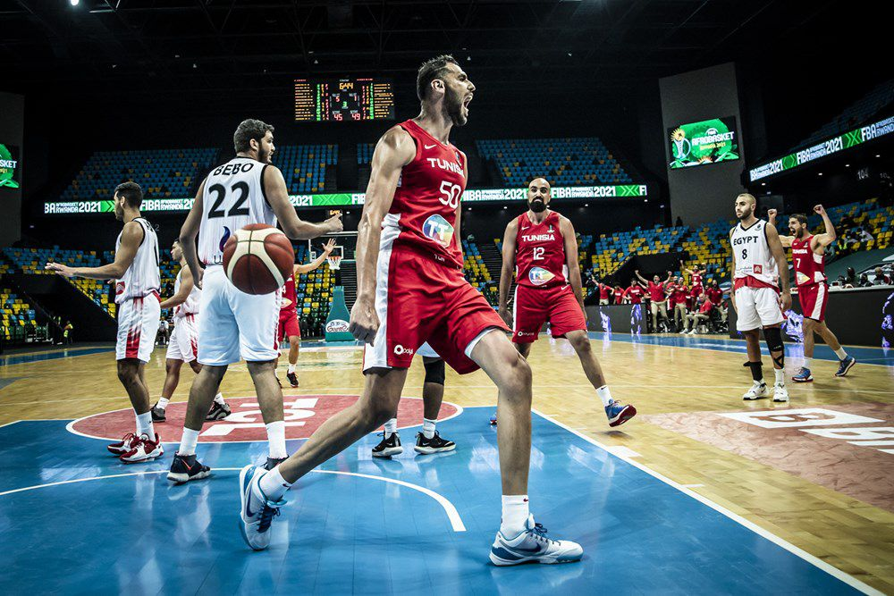 AfroBasket 2021 : la Tunisie renverse l'Égypte après avoir été mené de 17 points