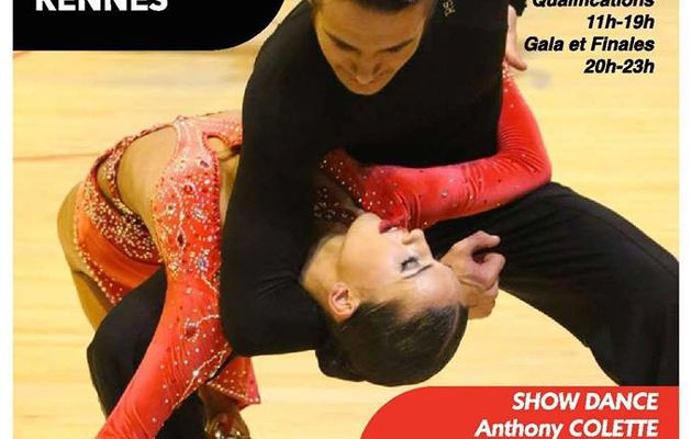 Coupe de France 2019 de Danse Sportive Latines et Standards à Rennes