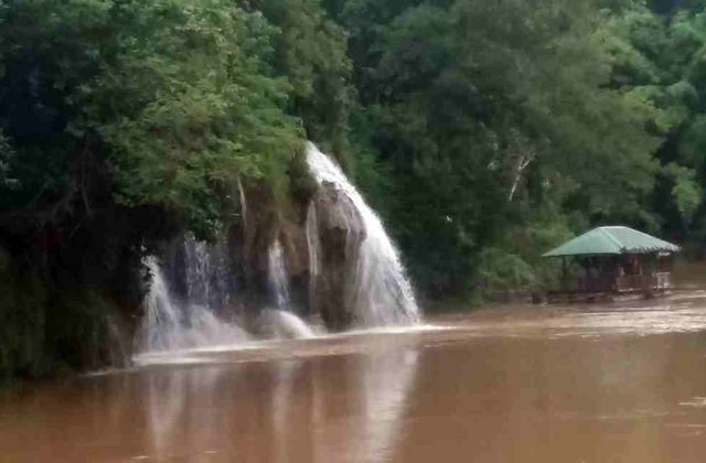 La cascade de Sai Yok Yai
