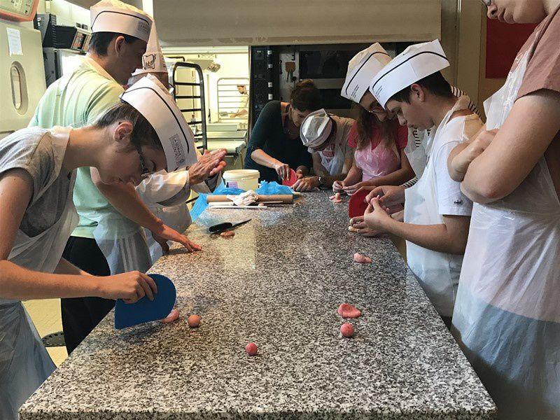 A l'école de Boulangerie