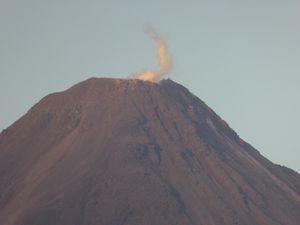 Volcan Arenal et le lac du Cero Chato