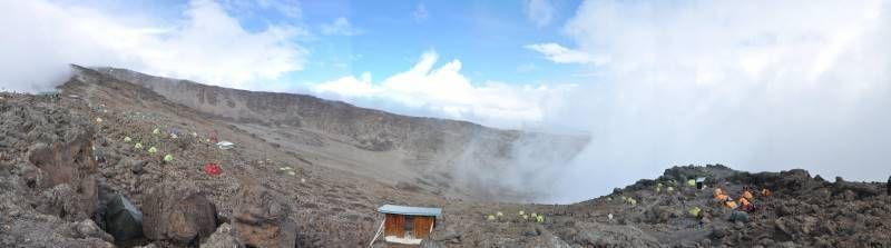 Kilimandjaro, camp de Barafu