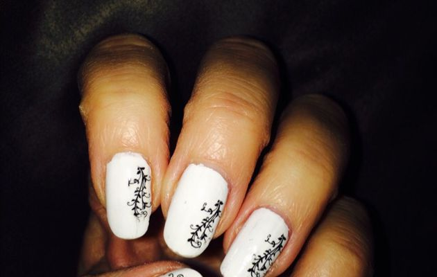 #nailart waterdecals #nail #nails #manicure #nailmodele  #nailclub #naildesign #néejolie