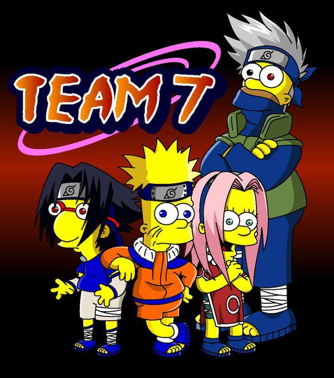 Quand Naruto inspire les Simpson