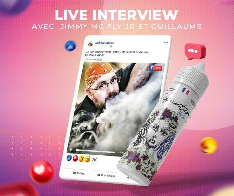Live vape - Interview avec l'aromaticien de chez Bobble Liquide