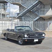 AC87 * Ford Mustang cabriolet V8 289 ci '65 - Palais-de-la-Voiture.com
