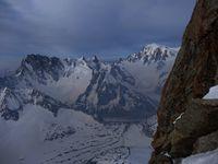 Alpinisme : les Droites  - 4000 m
