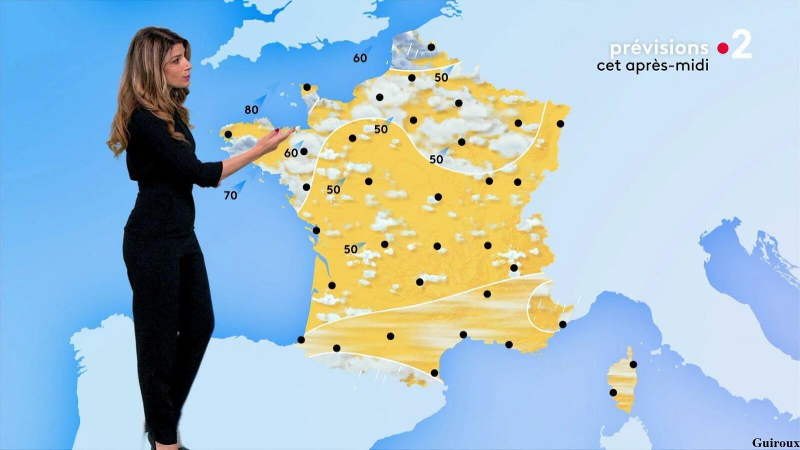 Chloé Nabédian 03/05/2021 Journaux météo du midi