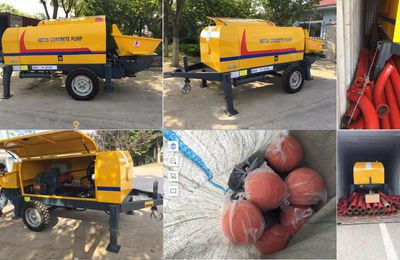 Diesel Concrete Mixer With Pump Available For Sale