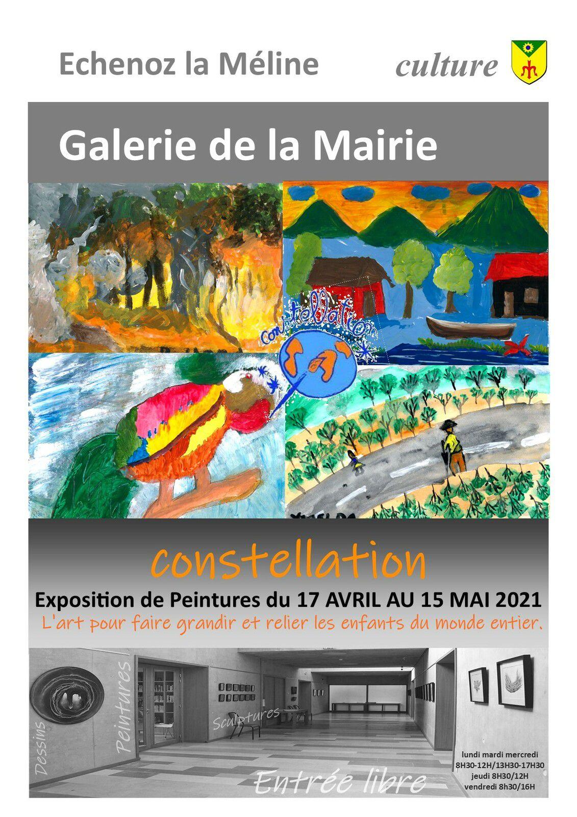 "Exposition du 17 avril au 15 mai 2021 : ""Constellation"""