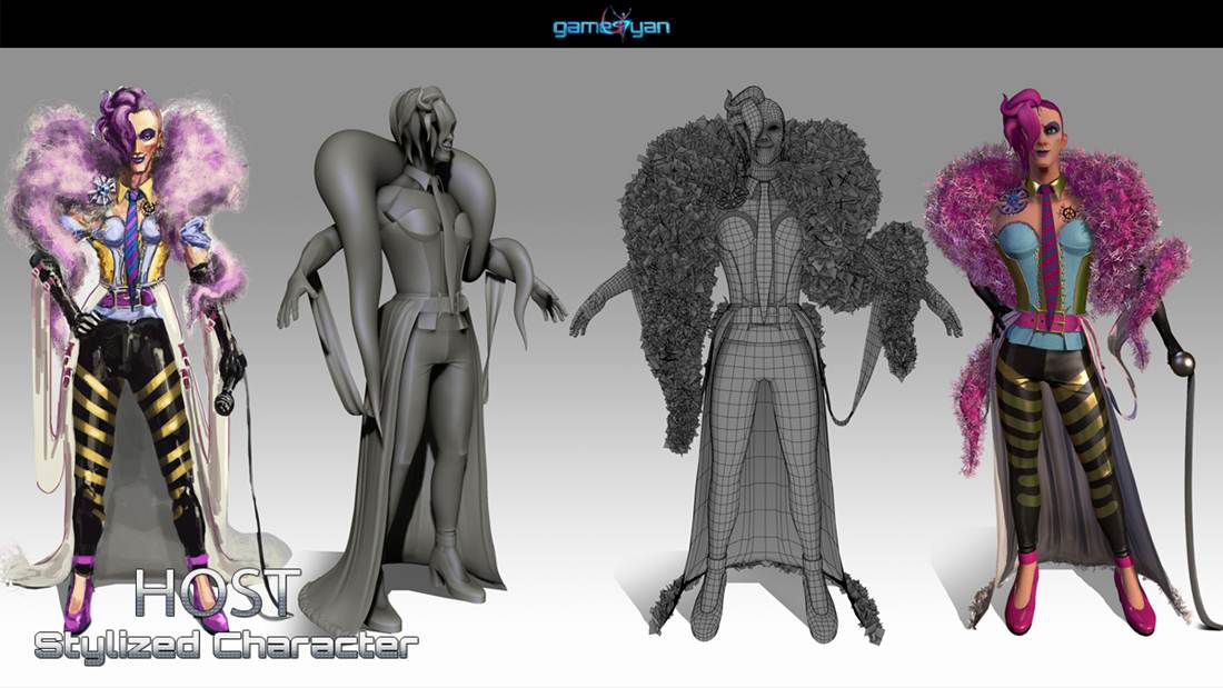 3D Character Modeling  & low poly game character by  3D Game Art Studio