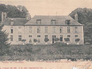 Milon-la-Chapelle - Le Château d'Abzac.