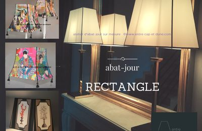 abat-jour RECTANGLE