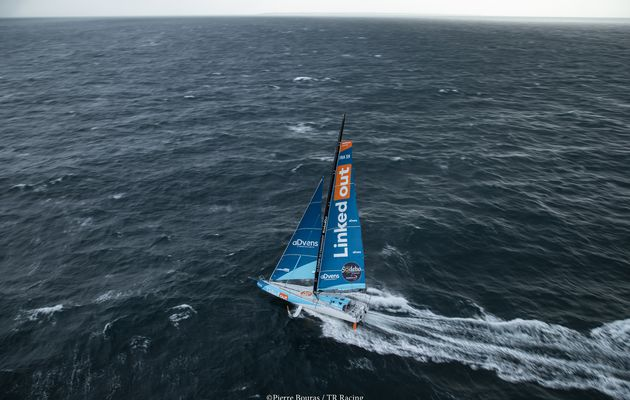 Vendée Globe 2020 / Thomas Ruyant (LinkedOut) : « Chercher le meilleur placement possible »