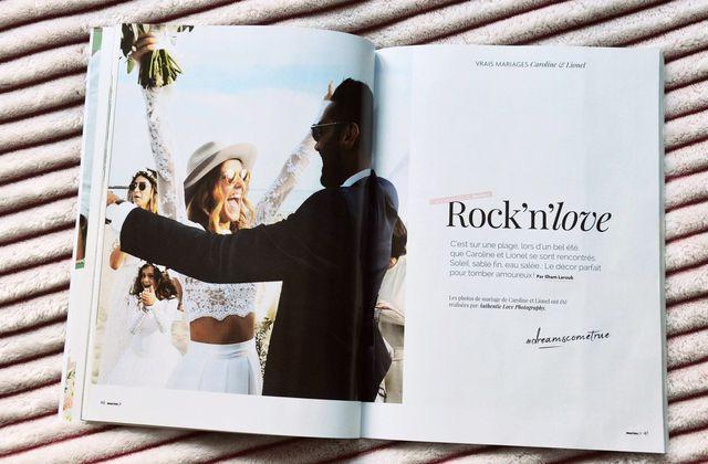 Mariée Magazine : le mariage Rock'n'love de Bonbon Rock Bohème