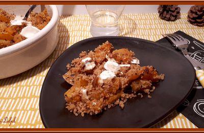 Quinoa à la courge musquée