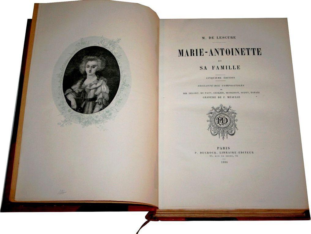 Lescure [Marie-Antoinette].