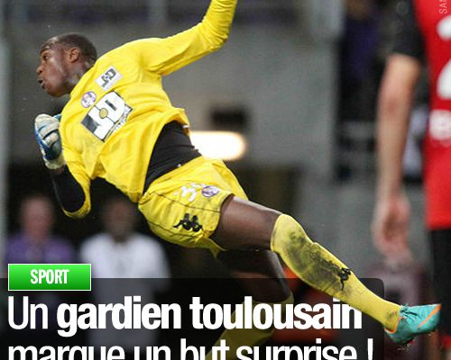 Un gardien toulousain marque un but surprise !