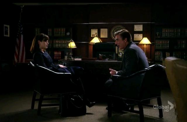 Critiques Séries : The Good Wife. Saison 3. Episode 20.