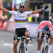 Cyclisme - Flèche Brabançonne : première victoire en arc-en-ciel de Julian Alaphilippe