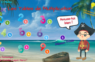Le Genially des tables d'additions, soustractions, Multiplications et Divisions