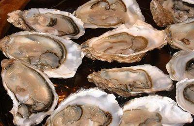 Un peu de culture....d'ostréiculture (huîtres gratinées au curry)